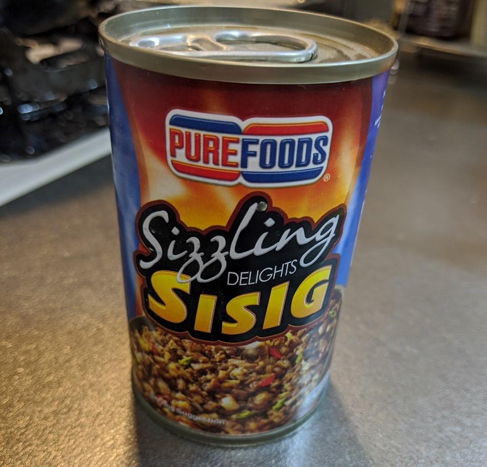 シシグ(Sisig)の缶詰